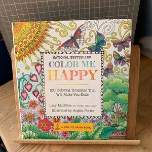 Gorgeous Color Me Happy Adult Coloring Book